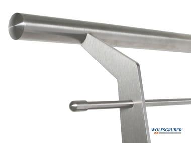 Stainless steel balustrade LASER