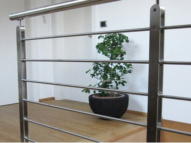 Stainless steel balustrade TWIN PLUS