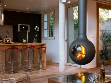 Central hanging fireplace BATHYSCAFOCUS HUBLOT