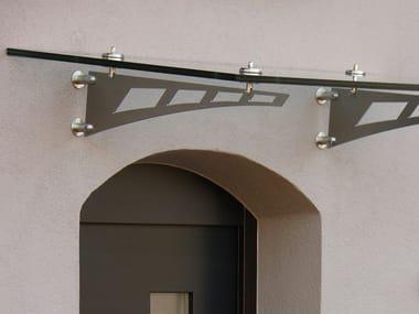 Glass door canopy SCHWERT