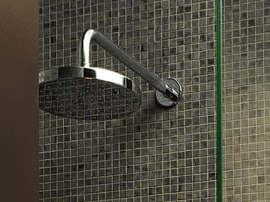 Wall-mounted overhead shower with arm SAVOIR | Overhead shower