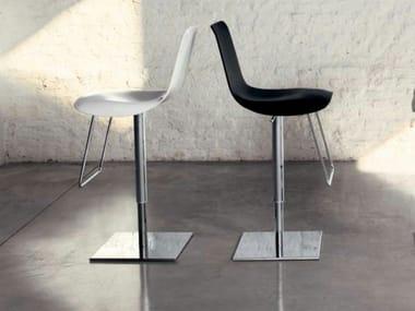 Height-adjustable swivel stool LEI HI