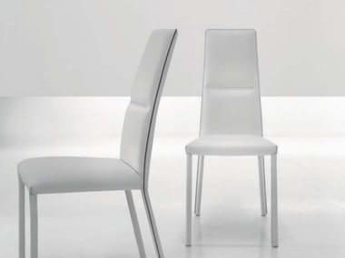Sedie in cuoio con schienale alto | Archiproducts
