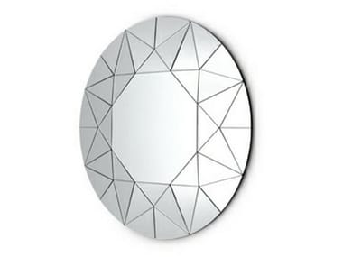 Round wall-mounted mirror DREAM