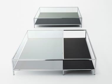 Low crystal coffee table FARADAY