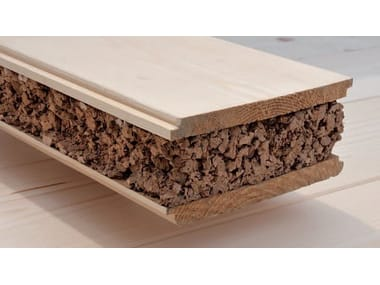 Cork Composite panel for roof ECO ISPER®