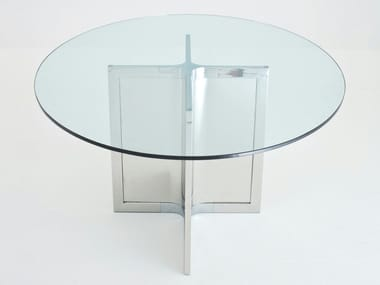 Round crystal table RAJ 4