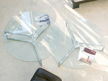 Low round coffee table RAJ 1