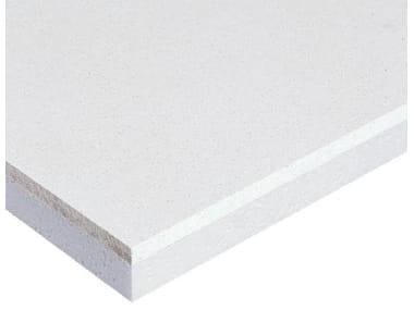 Gypsum plasterboard for thermal insulation Gypsum plasterboard