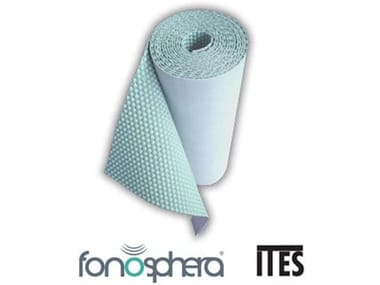 Sound insulation and sound absorbing felt in synthetic material FONOSPHERA®