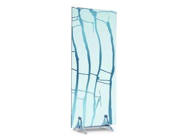 Mirrored glass room divider DECO 1 E DECO 2