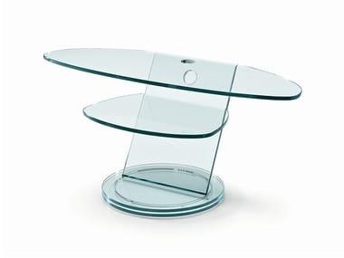Glass TV cabinet SCENARIO
