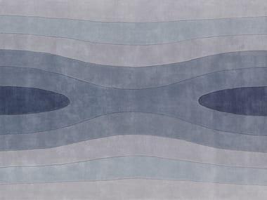 Rectangular wool rug SQUEEZE 2
