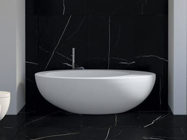 Freestanding ceramic bathtub LE GIARE | Bathtub