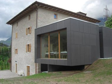 Roofing panel and sheet in fibre cement SWISSPEARL®