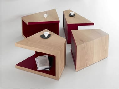Low square coffee table ETNA