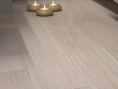 Glazed stoneware wall/floor tiles with wood effect NEWOOD