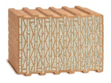 Loadbearing clay block UNIPOR W08 CORISO