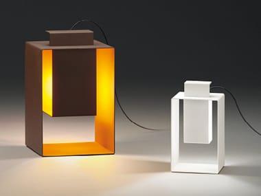 Lámpara de mesa para exteriores LED de metal con luz indirecta PORT