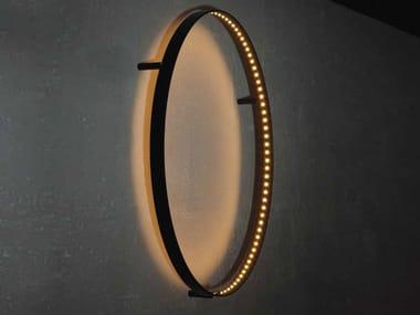 Lampada da parete a LED a luce diretta e indiretta CURVE 60