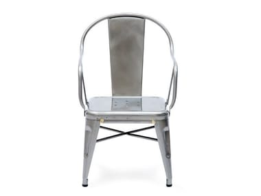 Garden armchair with armrests MOUETTE