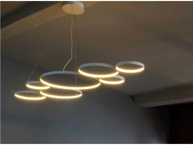 LED direct-indirect light pendant lamp ULTRA8