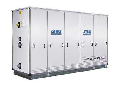 Heating unit and burner MODULO XL TOP