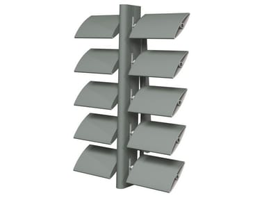 Sunscreening system for facade Brise Soleil 100