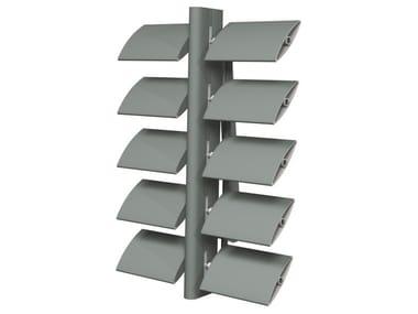 Sistema frangisole in alluminio Brise Soleil 100
