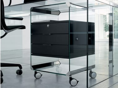 Office drawer unit with castors MOVIE