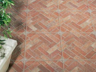 Porcelain stoneware outdoor floor tiles SEVILLA