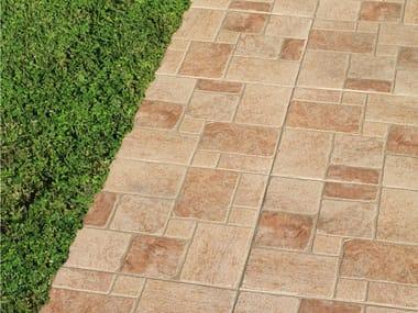 Porcelain stoneware outdoor floor tiles CIEZA