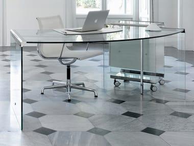 Crystal office desk PRESIDENT SENIOR/JUNIOR
