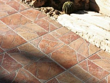 Porcelain stoneware outdoor floor tiles HELLIN