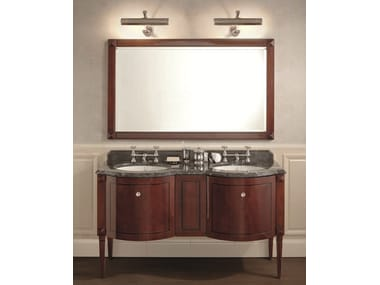 Mobile lavabo doppio in stile classico NOTTINGHAM 200 | Mobile bagno ...