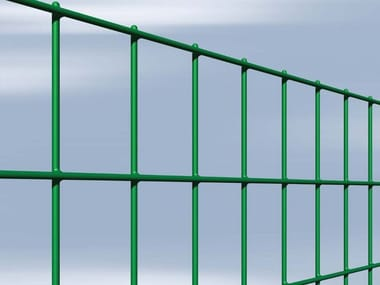 Plasticized electrically welded mesh Fence ESAPLAX