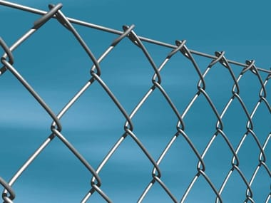 Galvanized steel Fence GALVANIZED CHAINLINK