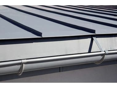 Zinc Gutter / downpipe Gutter and downpipe
