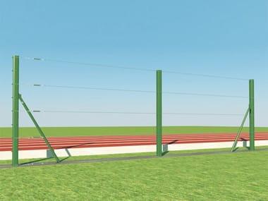 Palo per recinzione di campi sportivi PALI T SPORT