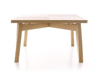 Tavolo allungabile in legno massello BACCO