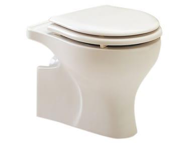 WC in porcellana per bambini con scarico a pavimento MILLEPIEDI | Wc