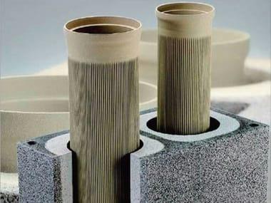 Canna fumaria in ceramica refrattaria ABSOLUT | Canna fumaria in ceramica refrattaria