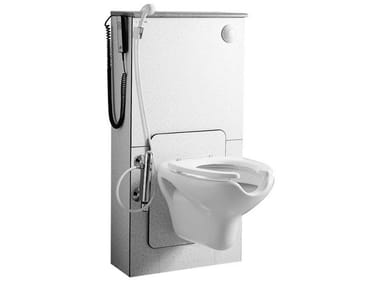 Height-adjustable close coupled toilet for disabled 300 | Height-adjustable toilet for disabled