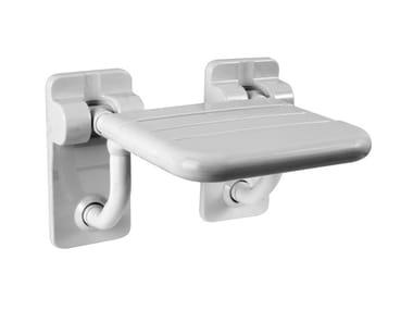 Sedile doccia ribaltabile in acciaio MAXIMA | Sedile doccia ribaltabile