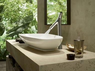 Countertop washbasin mixer AXOR STARCK ORGANIC | Countertop washbasin mixer