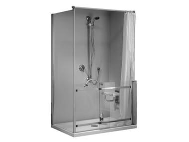 Box doccia in cristallo con porta scorrevole STANDARD | Box doccia con porta scorrevole