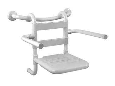 Sedile doccia rimovibile in acciaio TUBOCOLOR | Sedile doccia rimovibile