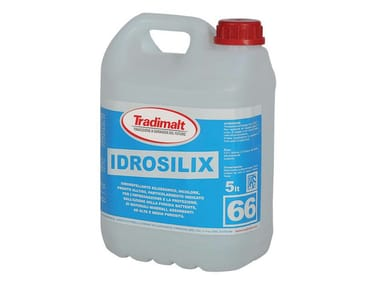 Water repellent water-based paint IDROSILIX