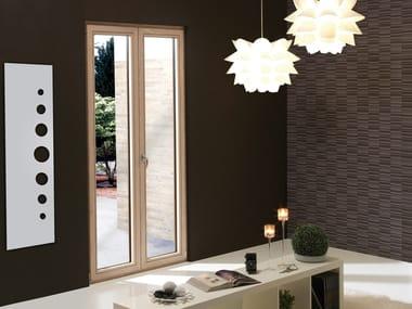Wood-PVC window ESTROSA