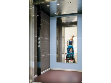 Machine Room-Less lift for existing buildings KONE MONOSPACE® 500